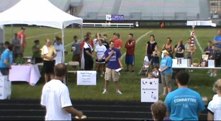 Eric Gives Speech at Relay for Life