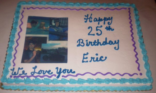 Happy 25th Birthday Eric!!