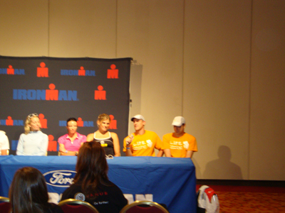 Ironman Wisconsin 2010 Press Conference